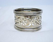 BIRMINGHAM STERLING - ENGLISH NAPKIN RING