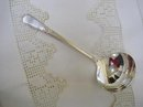 30's DECO  SILVERPLATE LADLE - ADORATION