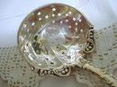 LOVELY ORNATE STERLING SILVER SUGAR SIFTER