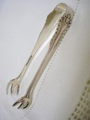 EARLY 1900's BIRKS STERLING SUGAR TONGS