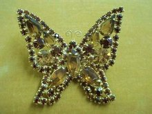 SUPERB KRAMER RHINESTONE BROOCH-BUTTERFLY