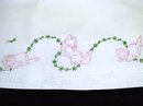 EMBROIDERY PILLOWCASE - ADORABLE KITTENS