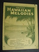 20's SHEET MUSIC-SMITHS HAWAIIAN MELODIES
