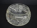 SUPERB OLD BRILLIANT CUT GLASS ROUND BOWL
