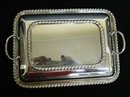 MARLBORO PLATE 2 pc. SERVING DISH with LID