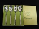 SET OF 4 COFFEE-TEA SPOONS - SOUTH SEAS