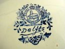 DELFTS PLATE-ROYAL SPHINX MAASTRICHT-SIGNED