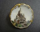 LIMOGES TINY PLATE-FAMOUS PARIS LANDMARK