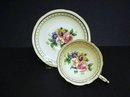 PRECIOUS PARAGON CUP and SAUCER - FLORAL