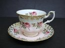 ROYAL ALBERT CUP&SAUCER - TINY ROSES