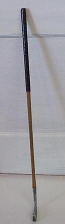 Old Wood Handle Iron Golf Club