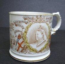 ANTIQUE MUG - 1837-1897 QUEEN VICTORIA