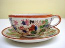 Marvelous HAND Painted CUP and SAUCER GEISHA LADIES