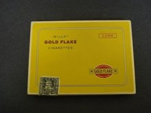 WILLS's GOLD FLAKE - CORK - CIGARETTES - BOX