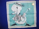 CHARMING CHILDS  HANKIE - DONALD DUCK