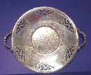 Lovely Silver Plate Serving Platter Victorian