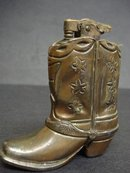 WESTERN BOOT LIGHTER - OCCUPIED JAPAN