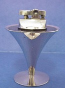 Art Deco Chrome Black Solingen LIGHTER