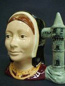 CATHERINE of ARAGON LARGE TOBY JUG - D6643