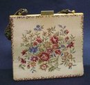 FINEST VINTAGE ITALIAN TAPESTRY LADIES PURSE