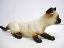 GOLDEN CROWN AUSTRIAN FIGURINE - YOUNG CAT