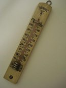 OLD FAHRENHEIT WALL STYLE THERMOMETER