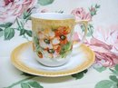 ANTIQUE CHOCOLATE  CUP & SAUCER - GERMANY