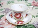 Lovely ROYAL ALBERT CUP & SAUCER - PINK ROSE