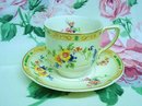 Pretty JOHNSON BROS.DEMITASSE CUP & SAUCER