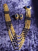 AMAZING  BEAUTY-HOBE NECKLACE&EARRINGS