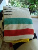 CLASSIC HUDSON BAY 4 POINT - WOOL BLANKET - ENGLAND