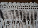 VINTAGE HAND CROCHET LACE TRAY LINER
