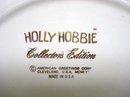 LOVELY COLLECTOR'S EDITION HOLLY HOBBIE PLATE