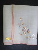 SWISS MADE HANKIE - SILK-Y EMBROIDERY