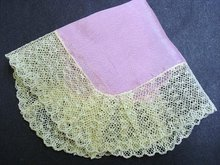 VINTAGE WEDDING BRIDAL HANKY HANDKERCHIEF