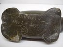 ESKIMO INUIT BLACK STONE CARVING - WALRUS