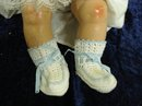 PRETTY CROCHET BOOTIES - for DOLL or BABY