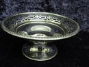 STERLING PEDESTAL SERVING DISH - OPEN WORK