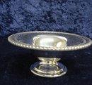 BIRKS PEDESTAL DISH-OPEN WORK-Silver Plate