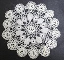 TINY CROCHET IRISH LACE DOILY