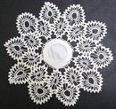 VINTAGE CROCHET LACE DOILY - UNIQUE PATTERN