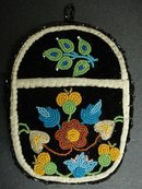 RARE ANTIQUE AMERICAN INDIAN BEAD WORK
