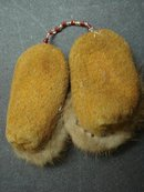 AMERICAN  INDIAN BEAD WORK - TINY MUKLUKS