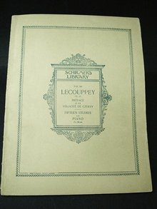 1899 SHEET MUSIC VOL. 69 LECOUPPEY OP.26