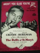 1940's SHEET MUSIC - BING CROSBY