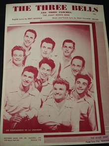 1945 SHEET MUSIC - THE THREE BELLS