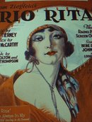 1929 SHEET MUSIC-FROM ZIEGFIELDS RIO RITA