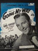 SHEET MUSIC-BING CROSBIE-GOING MY WAY