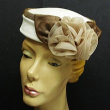 ELEGANT  -  PILL BOX STYLE - LADIES HAT -