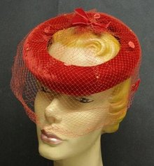 ANTIQUE LADIES HAT - PRETTY LITTLE NUMBER